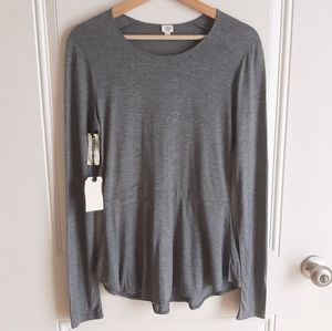 NWT Wilfred Heather Gray Fabre T Shirt Size Medium